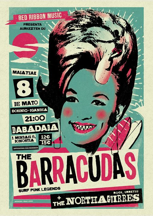 The Barracudas + The Northagirres  Dabadaba