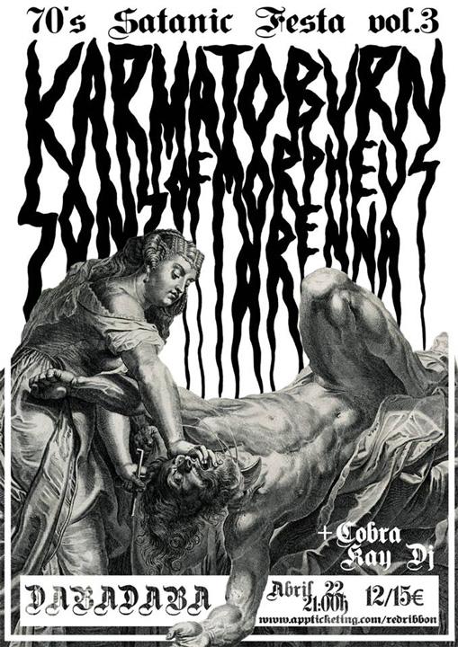 70´s Satanic Fest cartel
